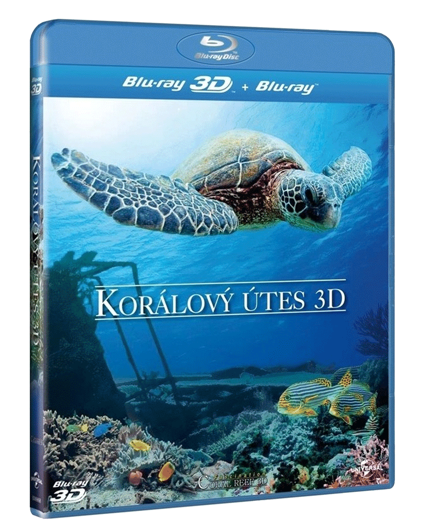 Korálový útes (Blu-ray 3D + 2D)