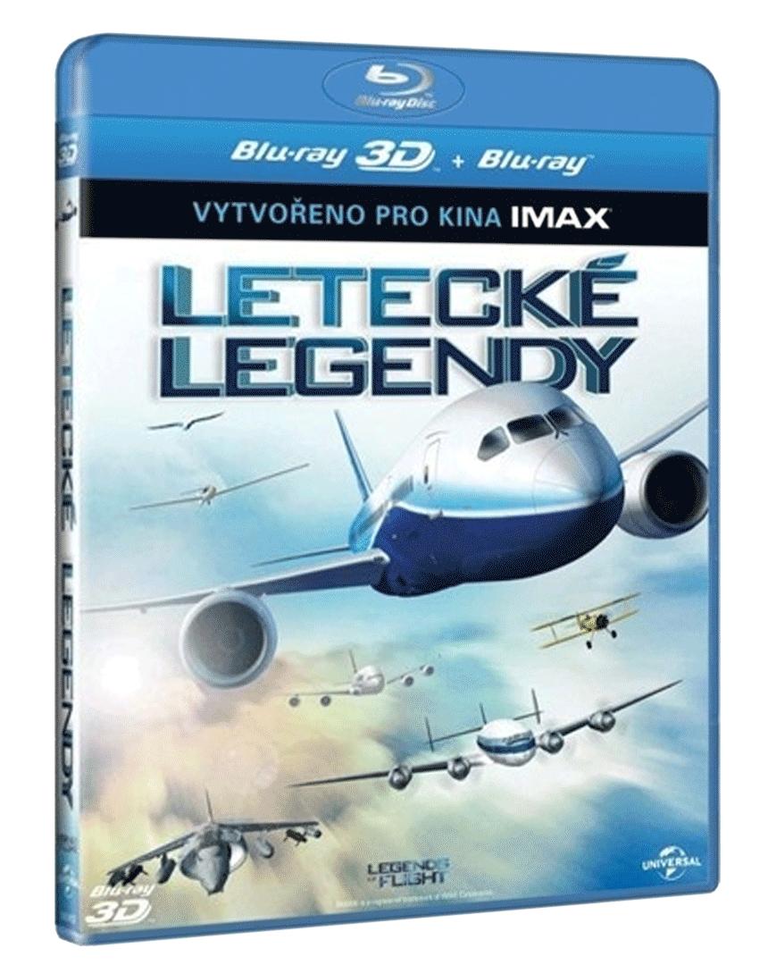 Letecké legendy (Blu-ray 3D + 2D)