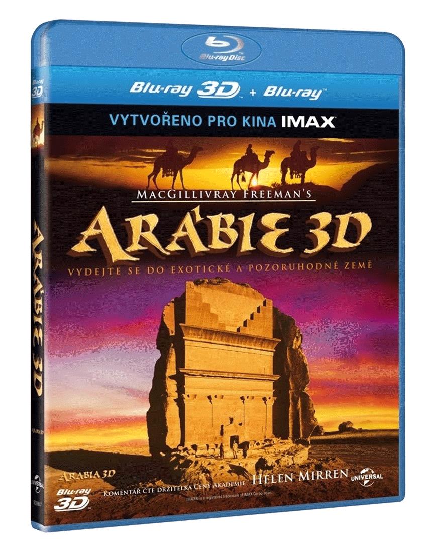 Arábie 3D (Blu-ray 3D + 2D)