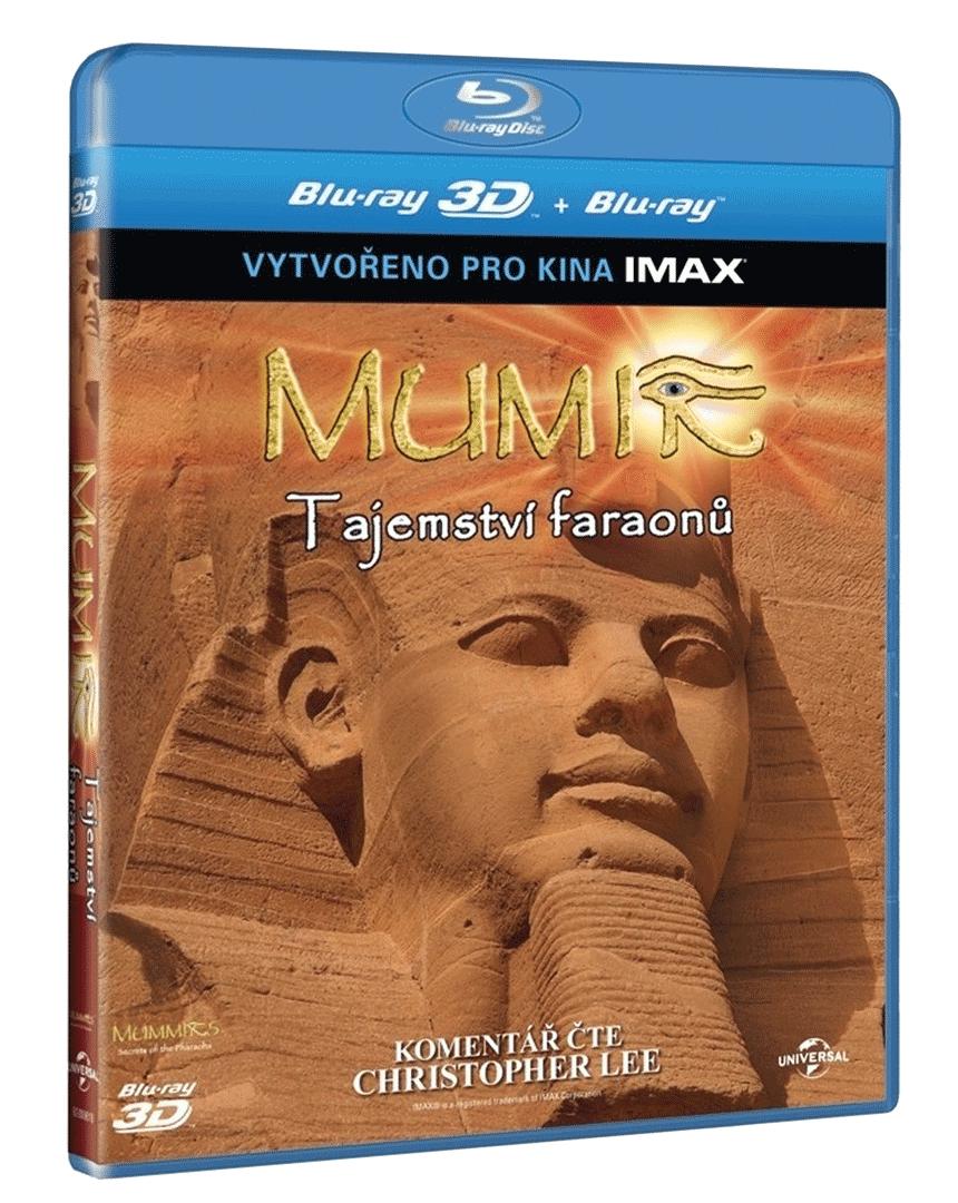 Mumie: Tajemství faraonů 3D (Blu-ray 3D + 2D)