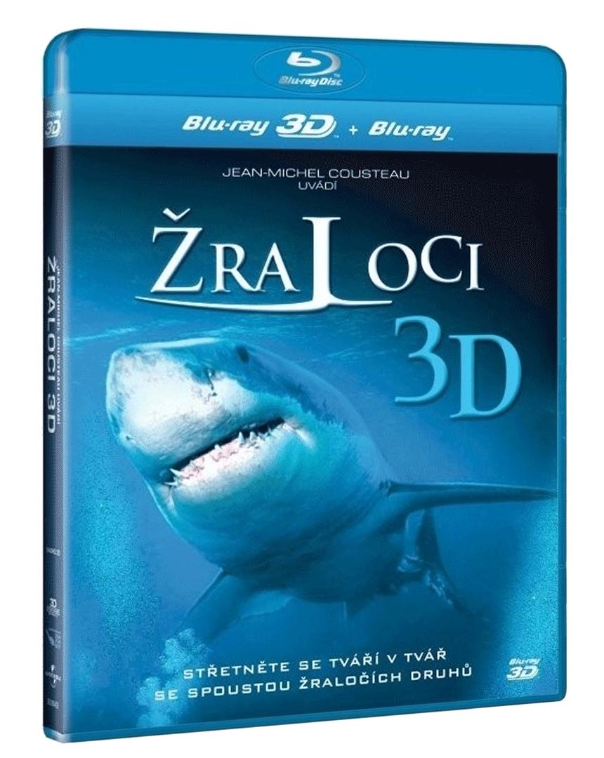 Žraloci 3D (Blu-ray 3D + 2D)