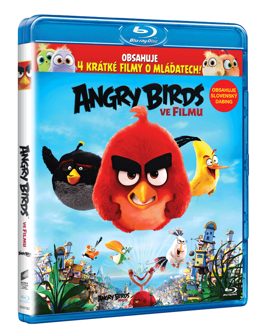 Angry Birds ve filmu (Blu-ray 3D a 2D)