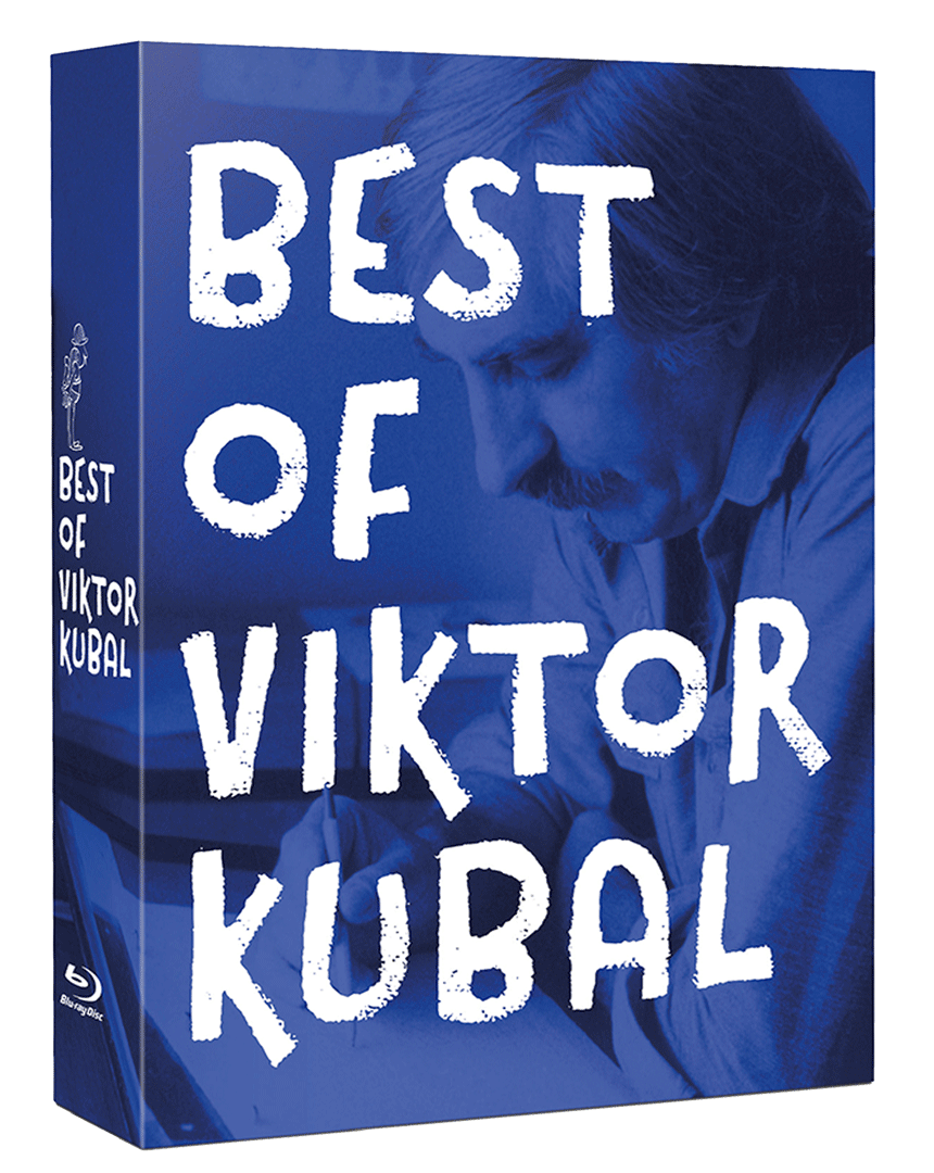 Best of Viktor Kubal (3x Blu-ray, Zbojník Jurko, Krvavá paní a další anim. filmy)