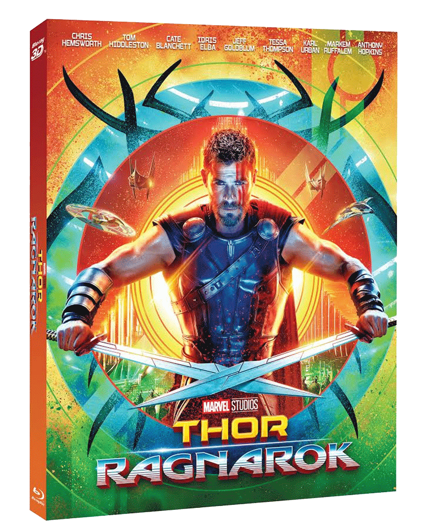 Thor: Ragnarok (Blu-ray 3D + Blu-ray 2D)