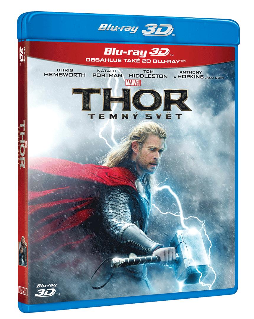 Thor: Temný svět (Blu-ray 3D + Blu-ray 2D)