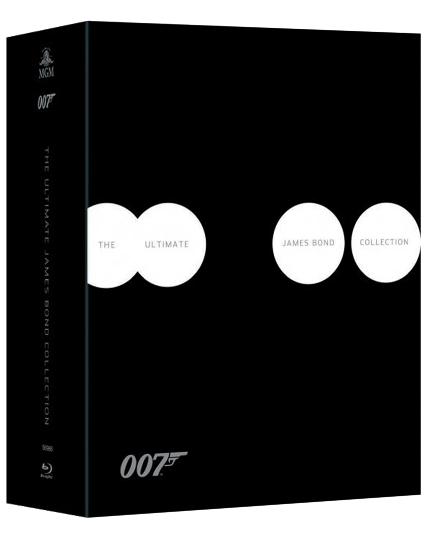James Bond (Blu-ray kolekce 1962-2012, 24x Blu-ray)