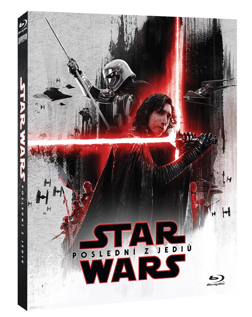 Star Wars: Poslední z Jediů (Blu-ray, rukávek První řád)