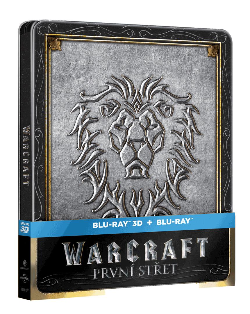 Warcraft: První střet (Steelbook, Blu-ray 3D + 2D)