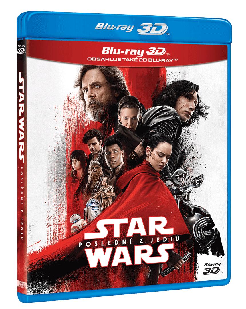 Star Wars: Poslední z Jediů (Blu-ray 3D + Blu-ray 2D)