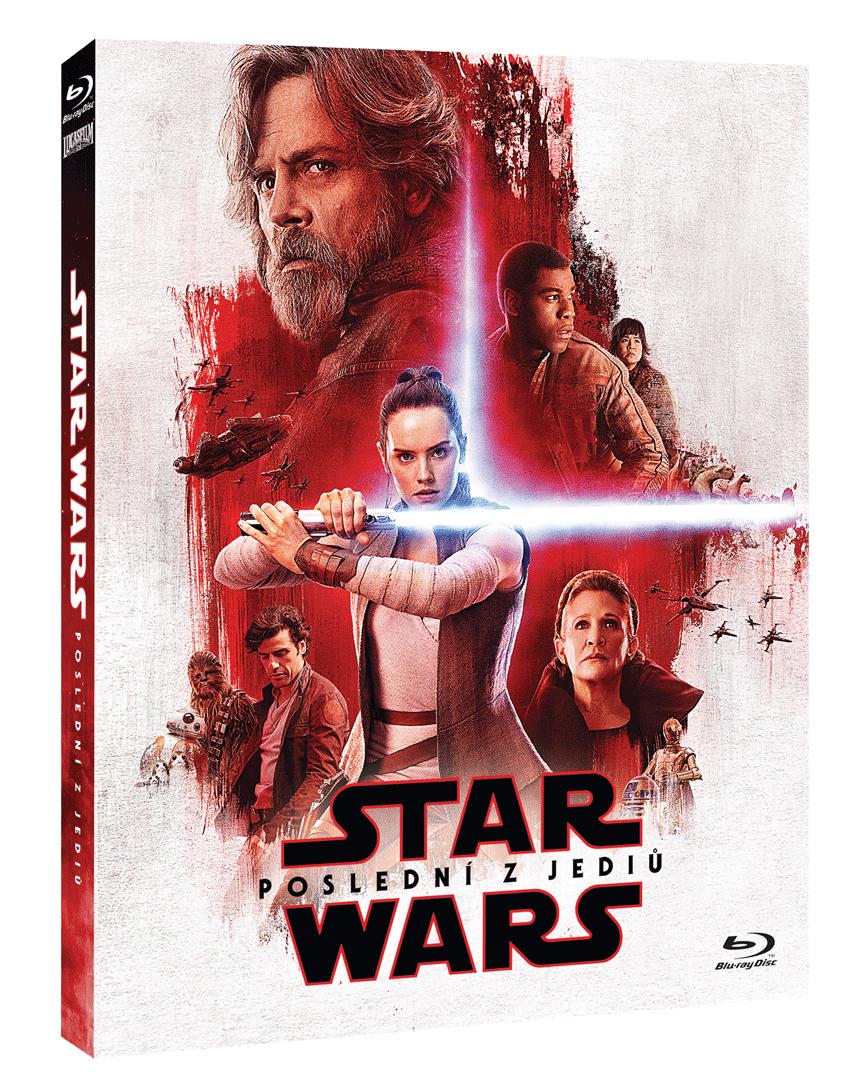Star Wars: Poslední z Jediů (Blu-ray, rukávek Odpor)