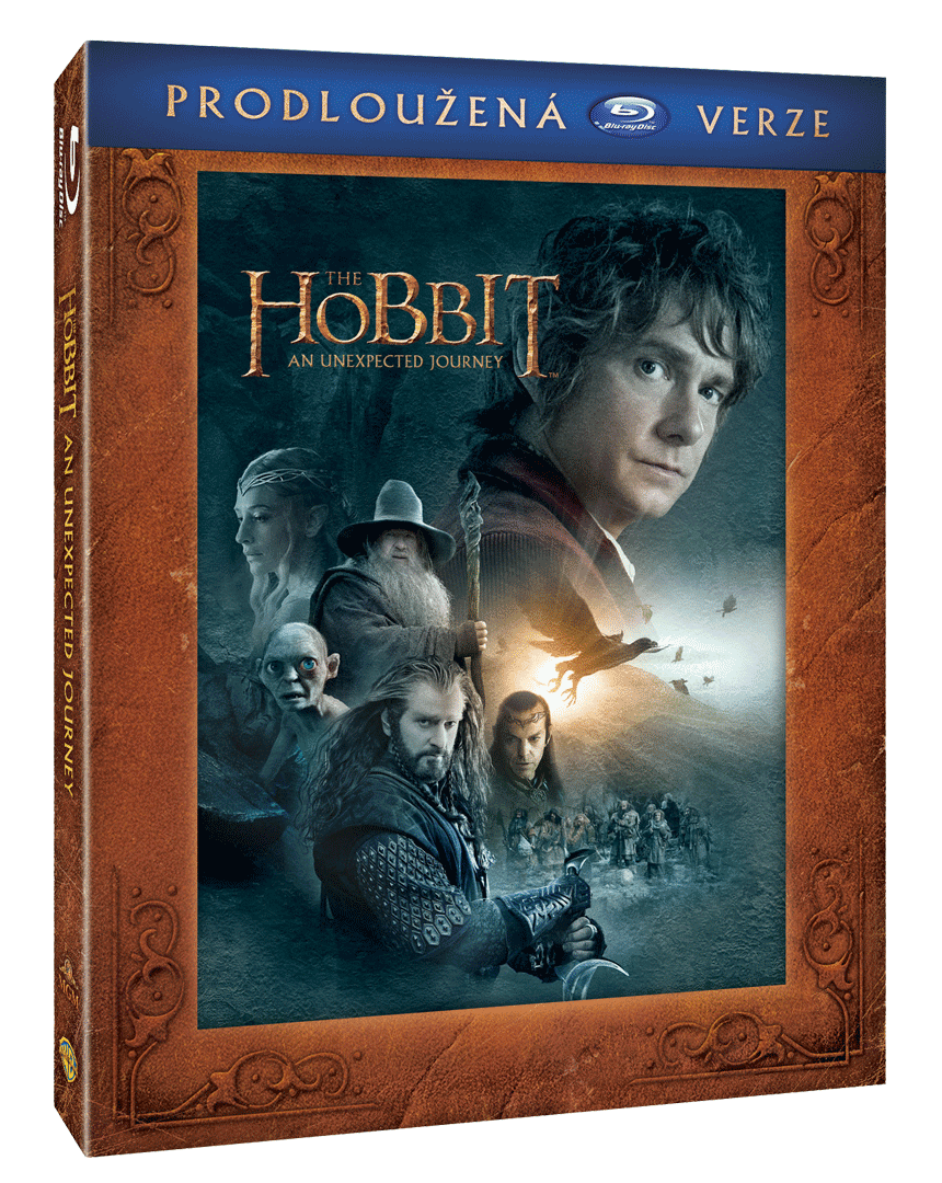 Hobit: Neočekávaná cesta (3x Blu-ray, Prodloužená verze)