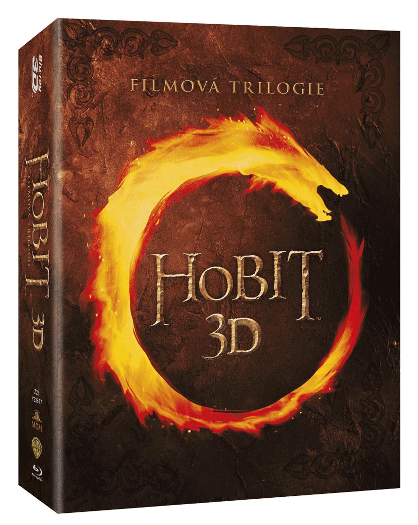 Kolekce Hobit (6x Blu-ray 3D, 6x Blu-ray 2D, kinoverze)