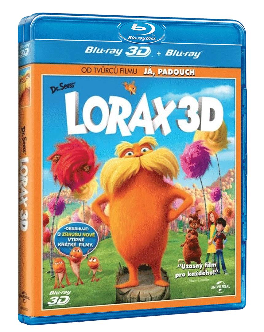 Lorax (Blu-ray 3D + Blu-ray 2D)