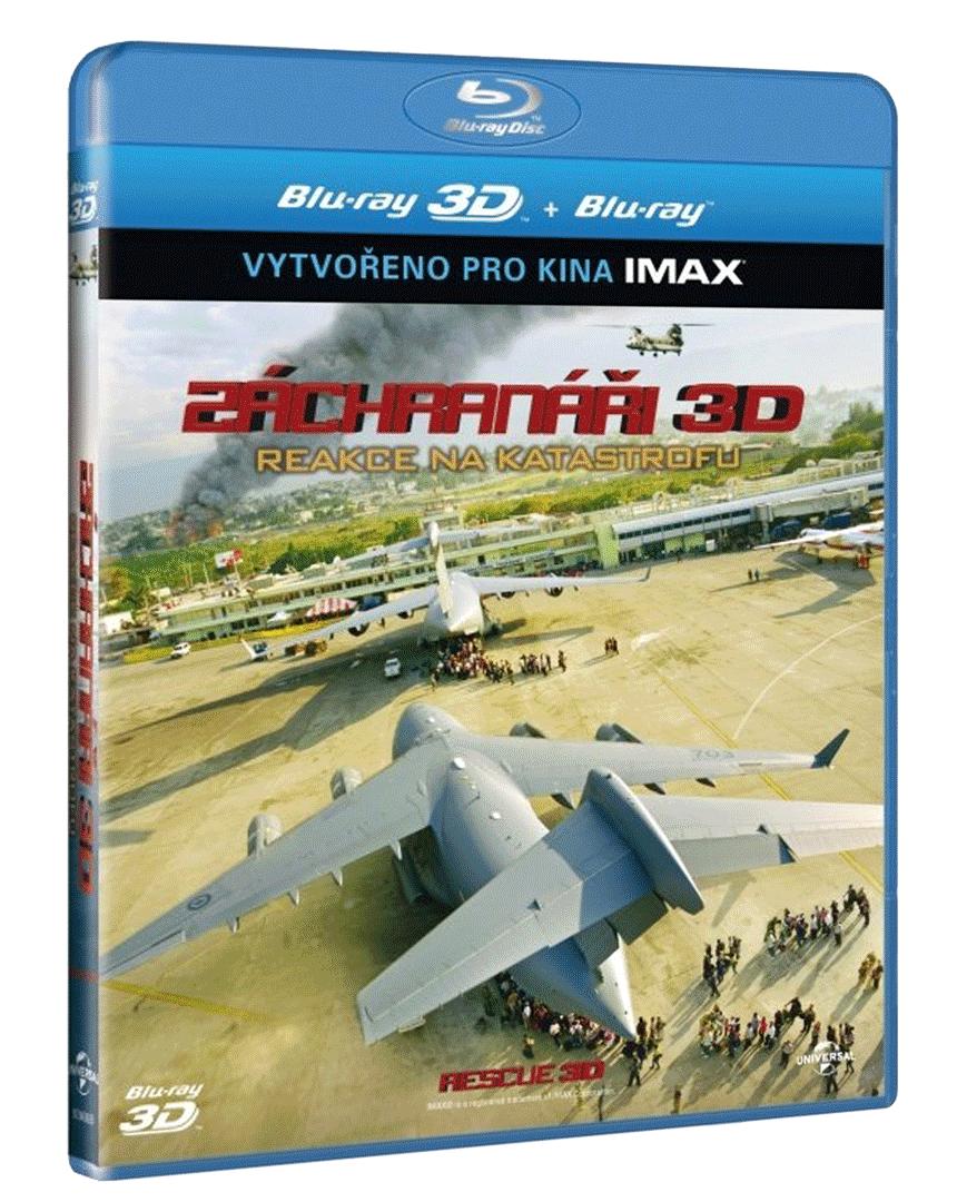 Záchranáři 3D (Blu-ray 3D + 2D)