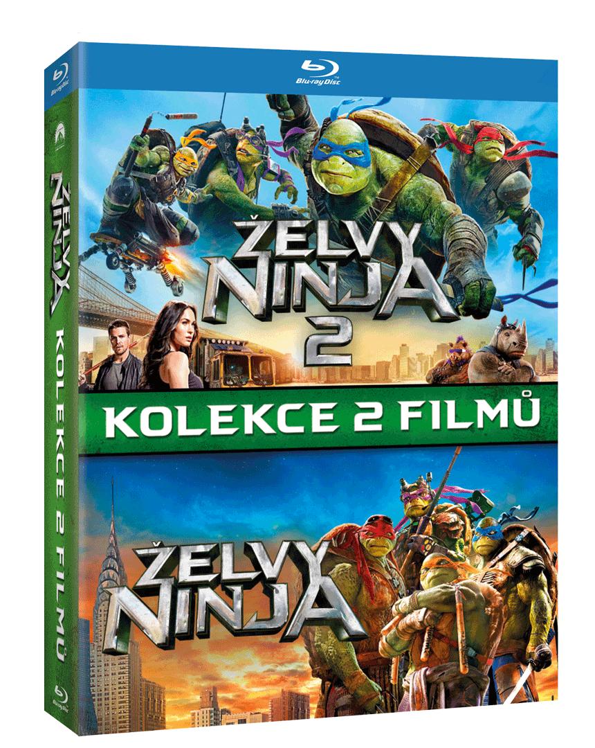 Želvy Ninja 1 a 2 (Blu-ray kolekce)
