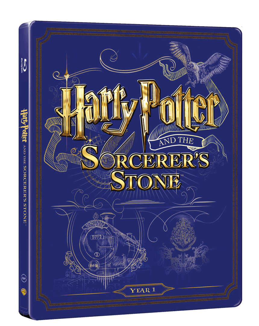 Harry Potter a Kámen mudrců (Blu-ray a DVD, Steelbook)
