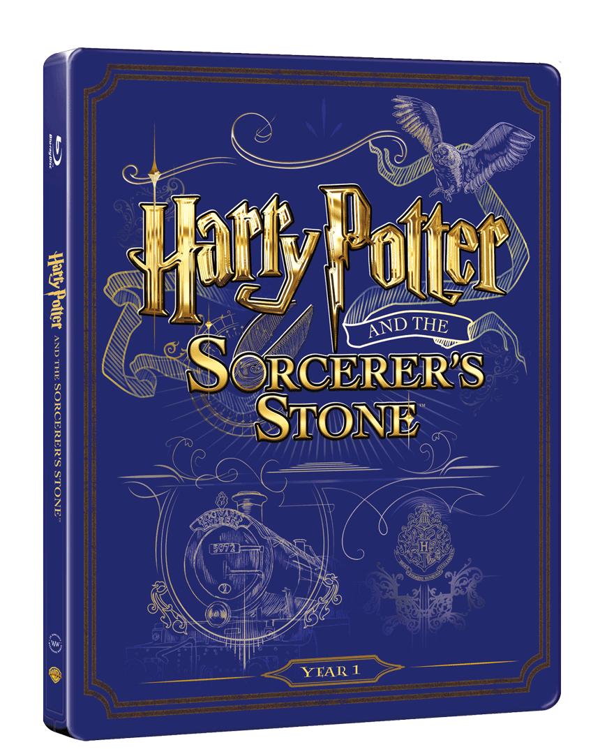 Harry Potter a Kámen mudrců (Blu-ray a DVD, Steelbook)