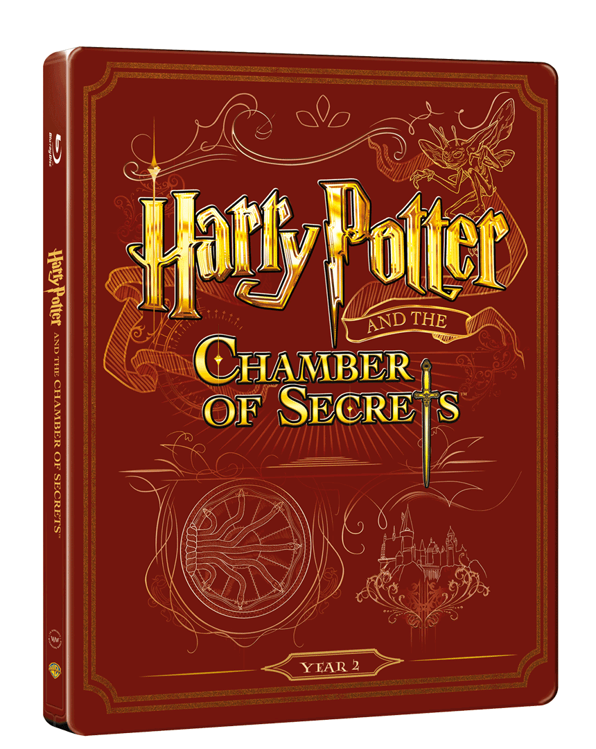 Harry Potter a Tajemná komnata (Blu-ray + DVD, Steelbook)