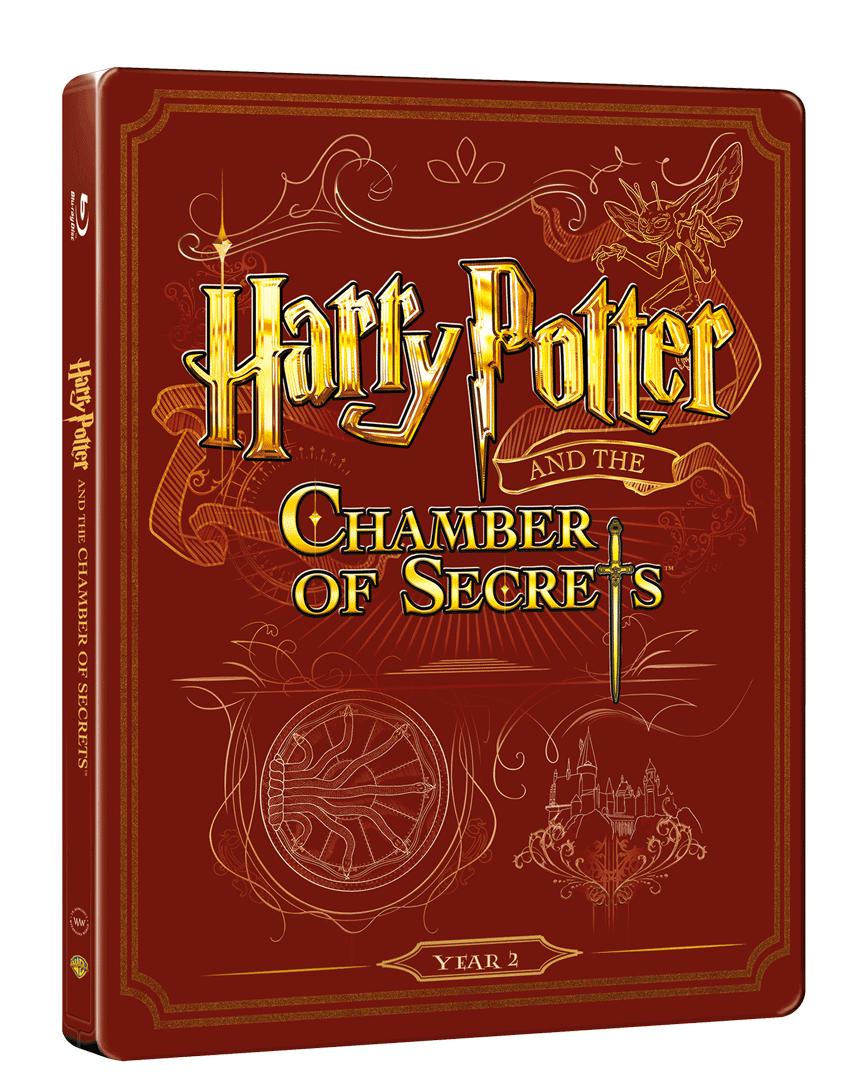 Harry Potter a Tajemná komnata (Blu-ray + DVD, Steelbook)