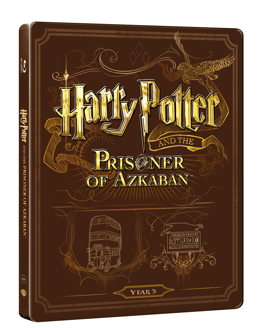 Harry Pottera a Vězeň z Azkabanu (Blu-ray + DVD, Steelbook)