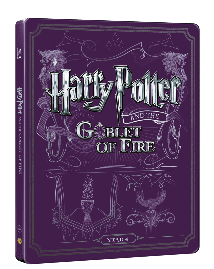 Harry Potter a Ohnivý pohár (Blu-ray + DVD, Steelbook)