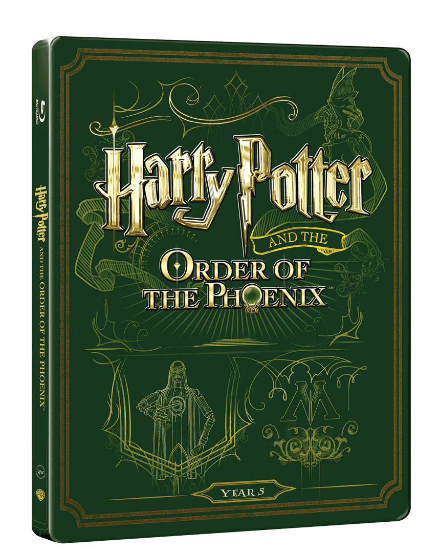 Harry Potter a Fénixův řád (Blu-ray + DVD, Steelbook)
