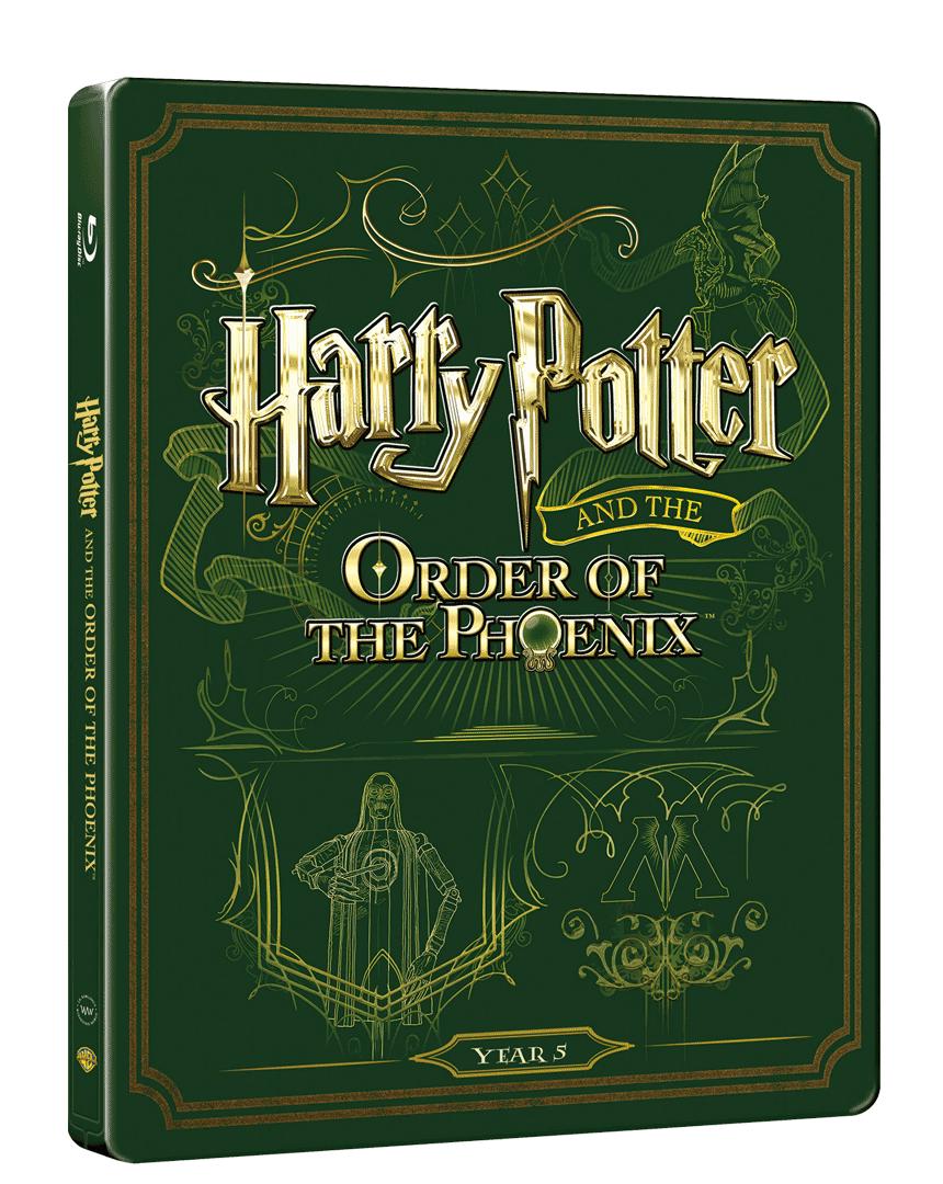 Harry Potter a Fénixův řád (Blu-ray + DVD, Steelbook)