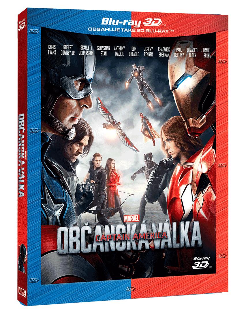 Captain America: Občanská válka (Blu-ray 3D a 2D)