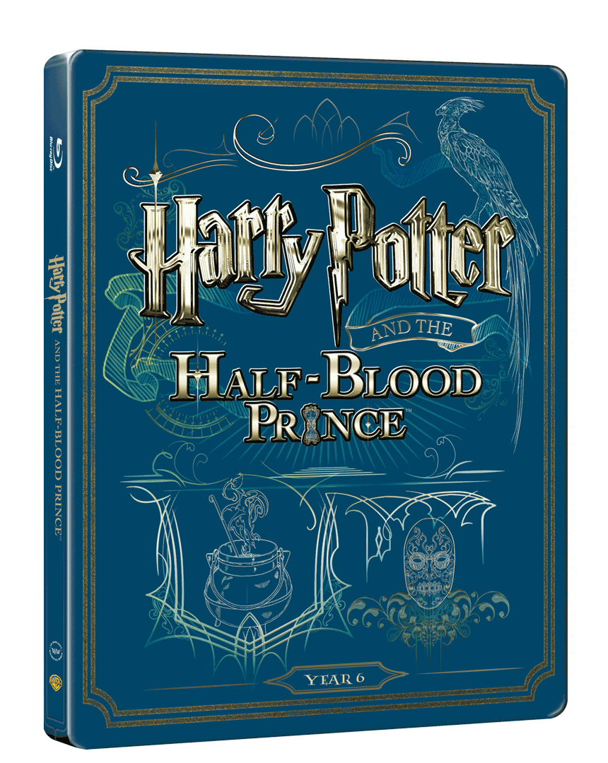 Harry Potter a Princ dvojí krve (Blu-ray + DVD, Steelbook)