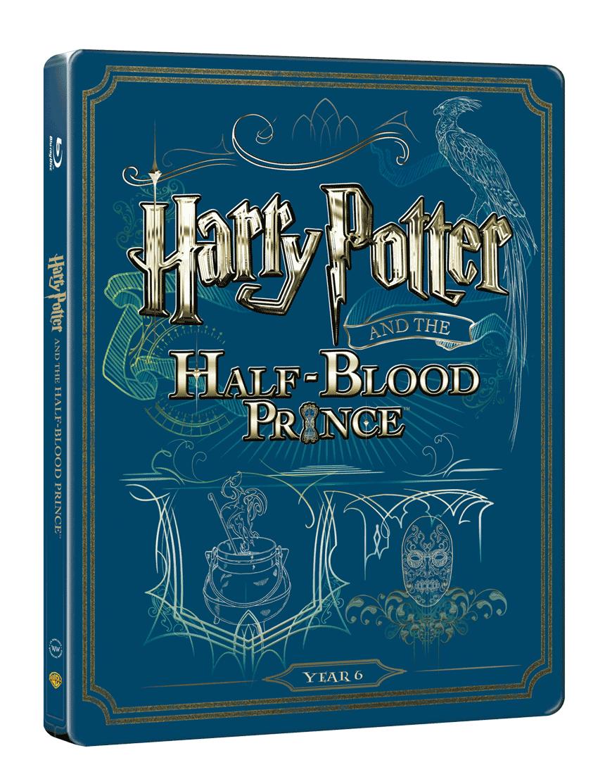 Harry Potter a Princ dvojí krve (Blu-ray + DVD, Steelbook)