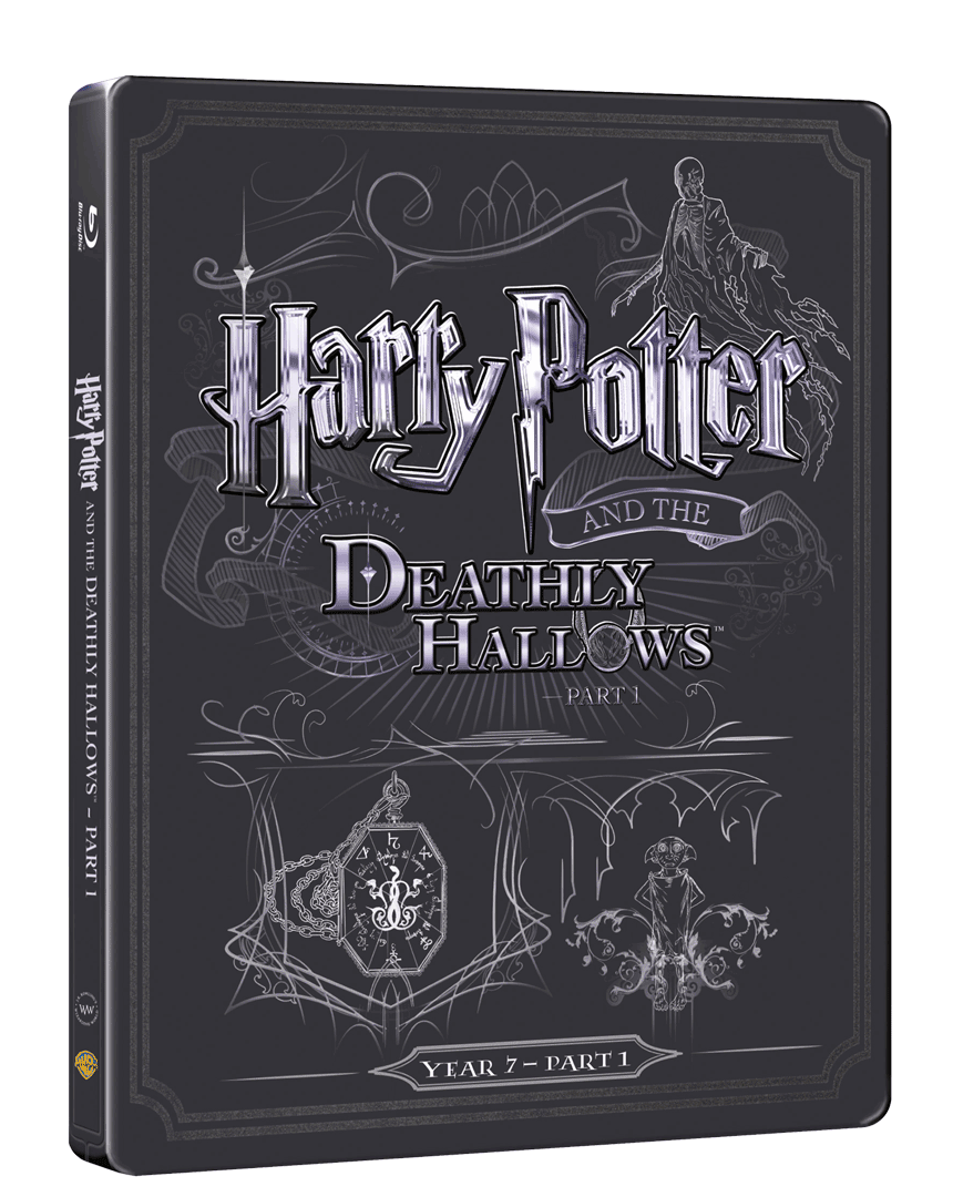 Harry Potter a Relikvie Smrti - část 1. (Blu-ray + DVD, Steelbook)