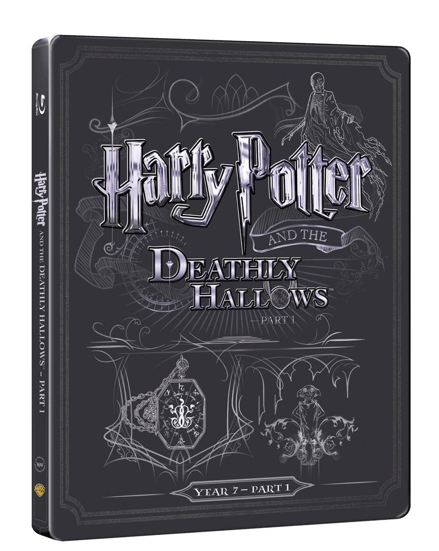 Harry Potter a Relikvie Smrti - část 1. (Blu-ray + DVD, Steelbook)
