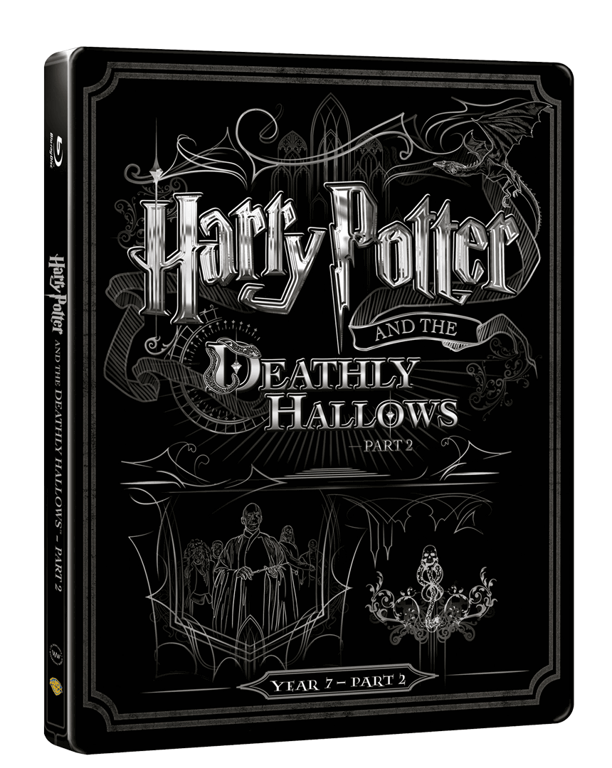 Harry Potter a Relikvie smrti - část 2. (Blu-ray + DVD, Steelbook)