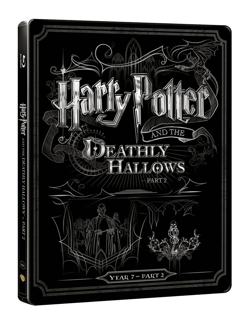 Harry Potter a Relikvie smrti - část 2. (Blu-ray + DVD, Steelbook)