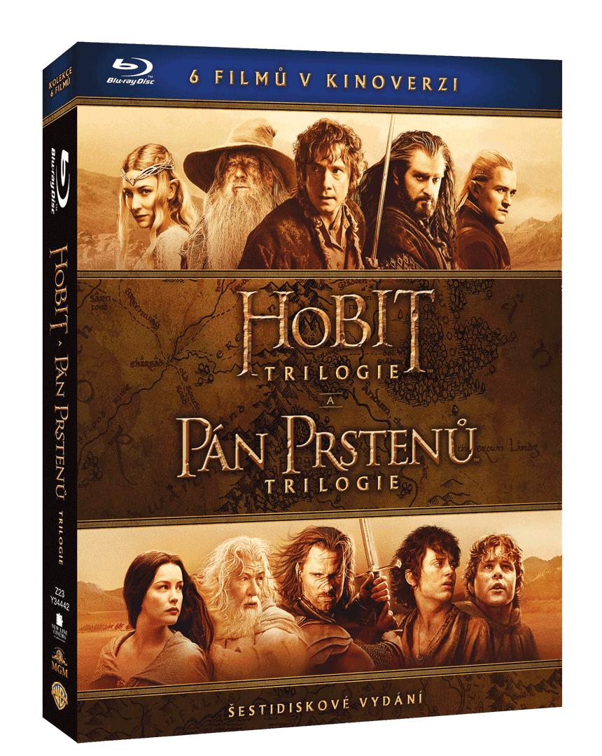 Kolekce Středozemě (6 x Blu-ray, kinoverze)