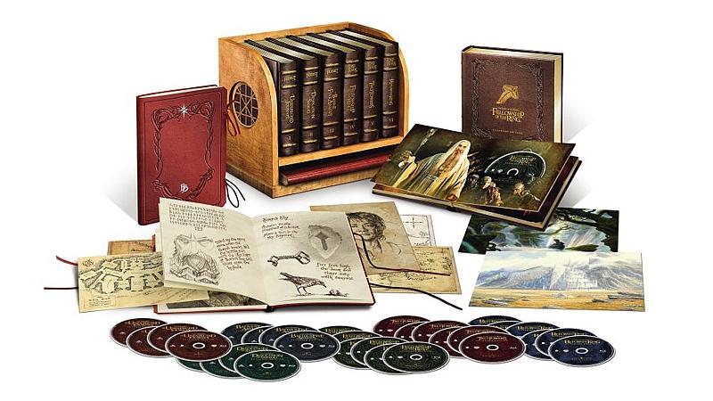 Kolekce Středozemě (18xBlu-ray, 12xDVD, rozšířené verze, sběratelská edice)