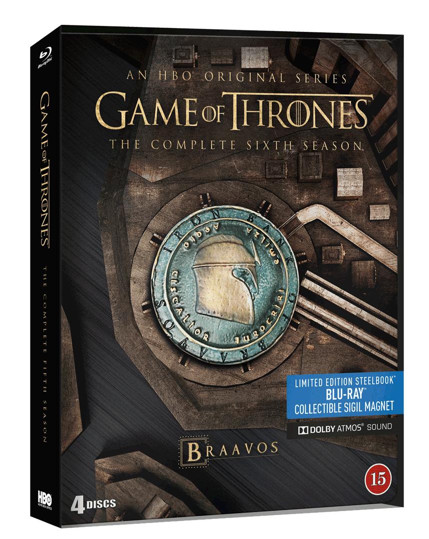 Hra o trůny - 6. sezóna (4x Blu-ray, Steelbook)