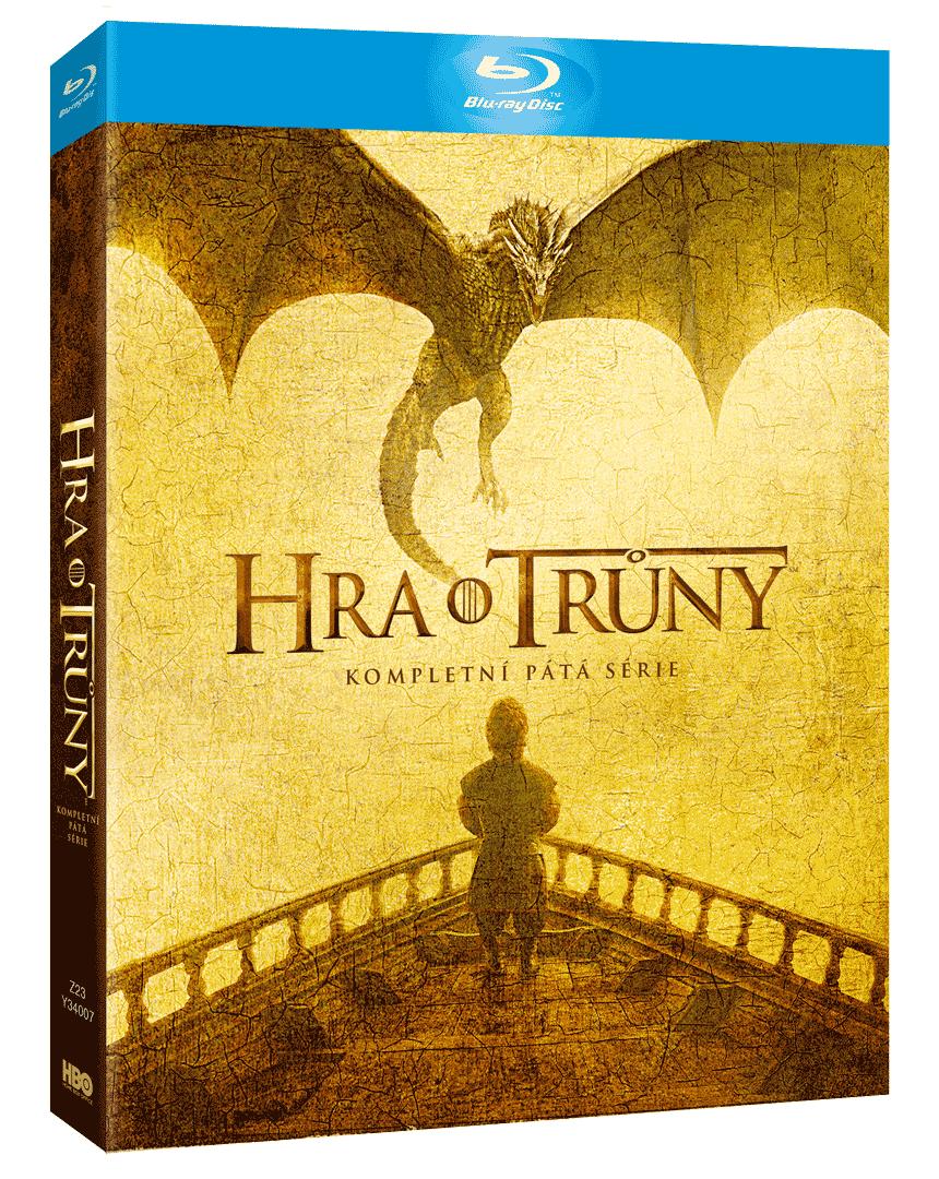 Hra o trůny - 5.sezóna (4x Blu-ray)
