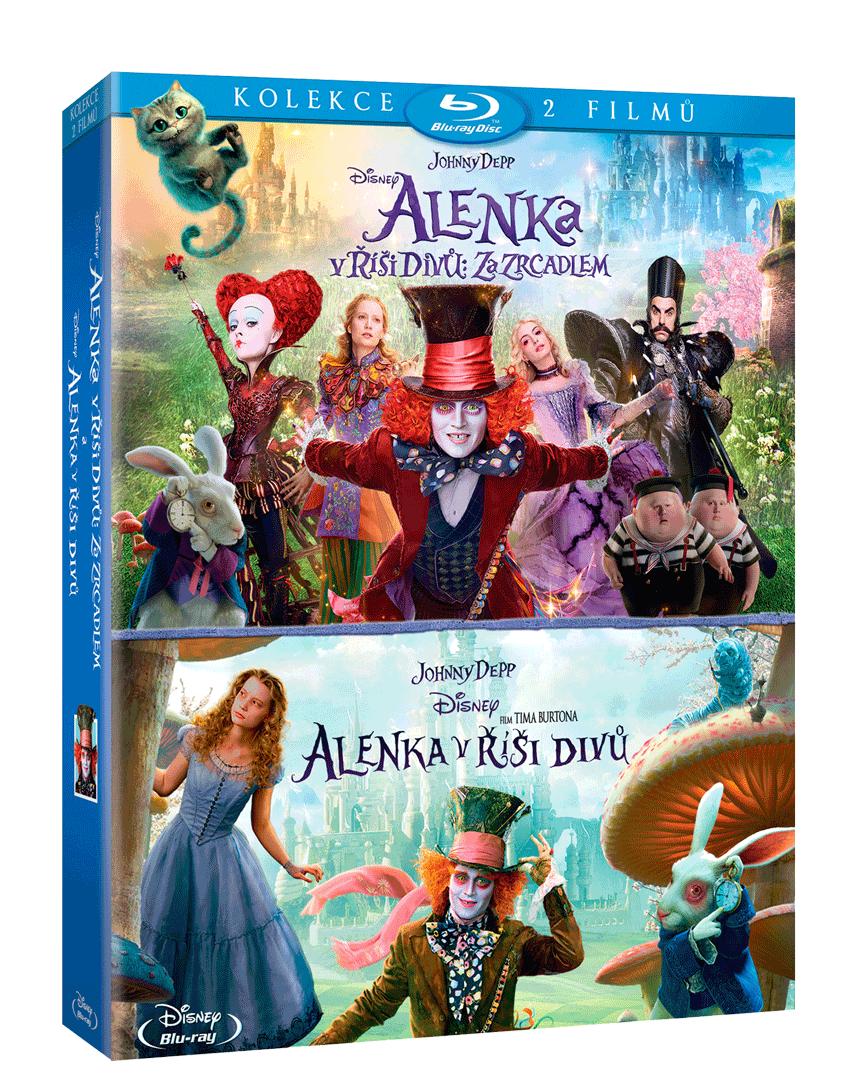 Kolekce Alenka v Říši divů (2x Blu-ray)