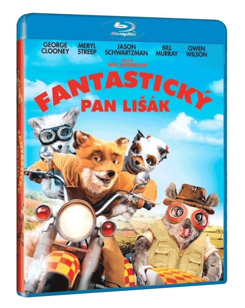 Fantastický pan Lišák (Blu-ray)