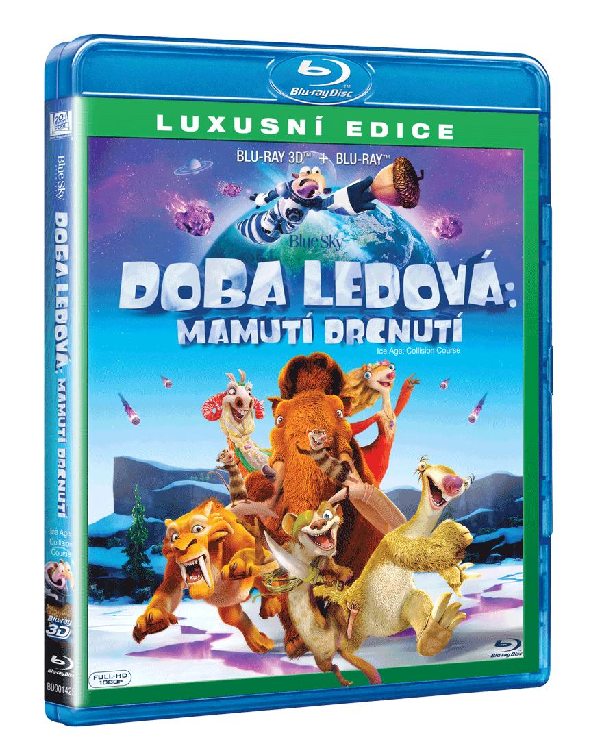 Doba ledová 5: Mamutí drcnutí (Blu-ray 3D + Blu-ray)