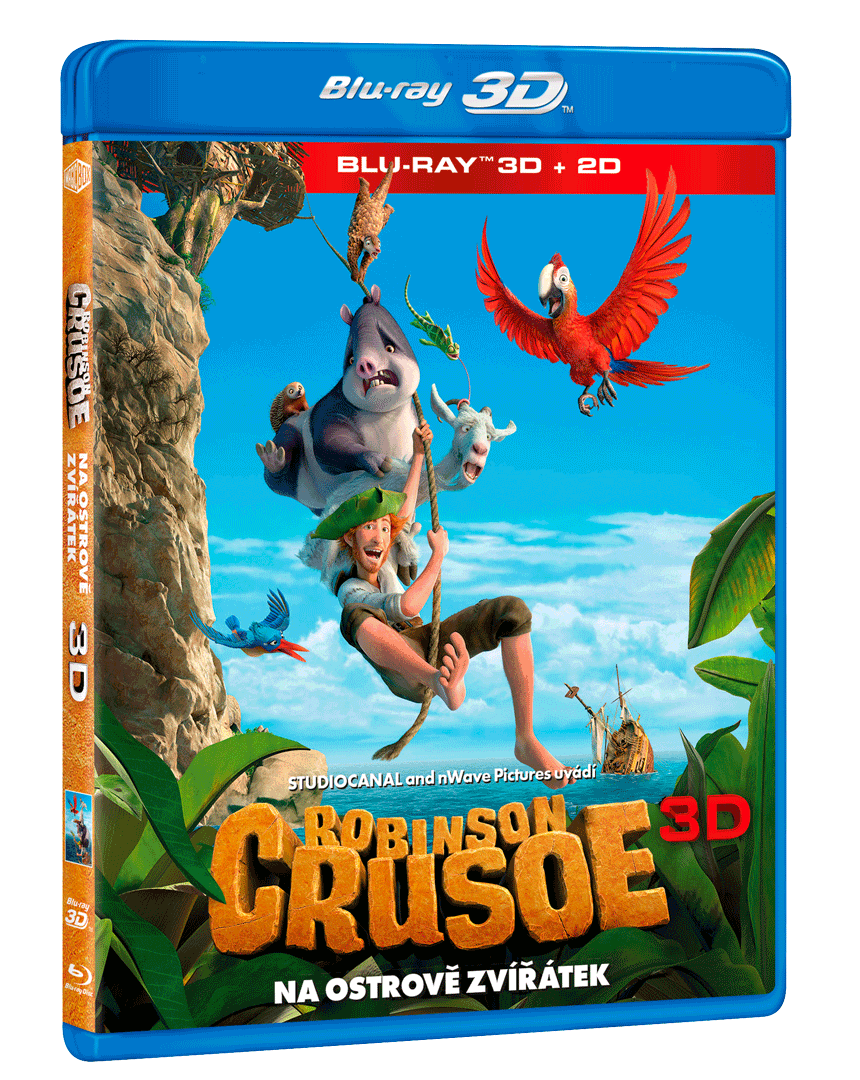 Robinson Crusoe: Na ostrově zvířátek (Blu-ray 3D)