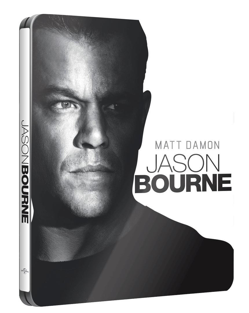 Jason Bourne (Blu-ray + bonusové DVD, Steelbook)