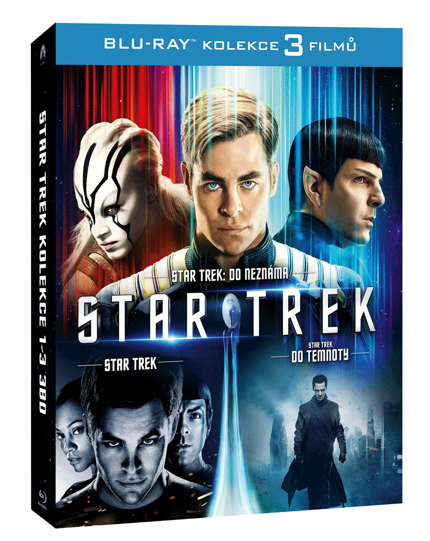 Star Trek Trilogie (3x Blu-ray)