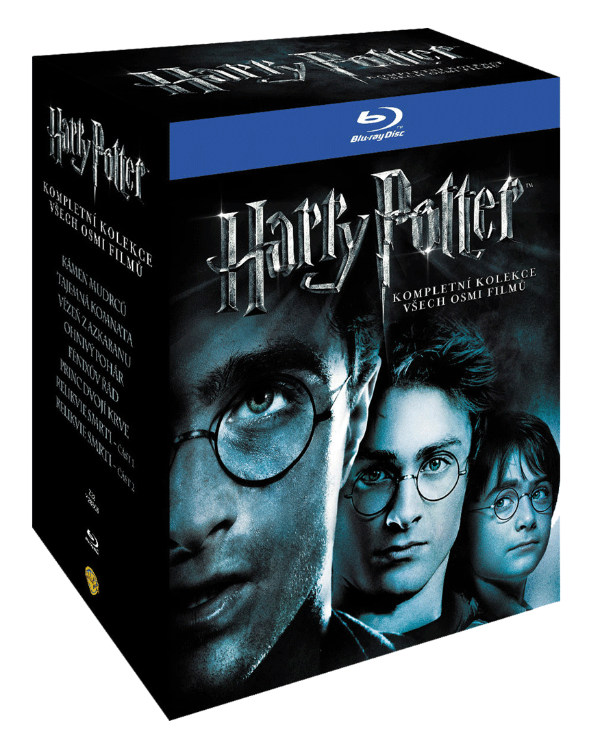 Harry Potter (Blu-ray kolekce 1-8, 11x Blu-ray)