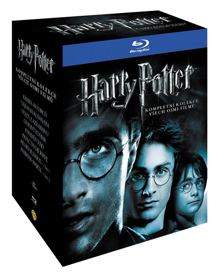Harry Potter (Blu-ray kolekce 1-8, 11x Blu-ray)