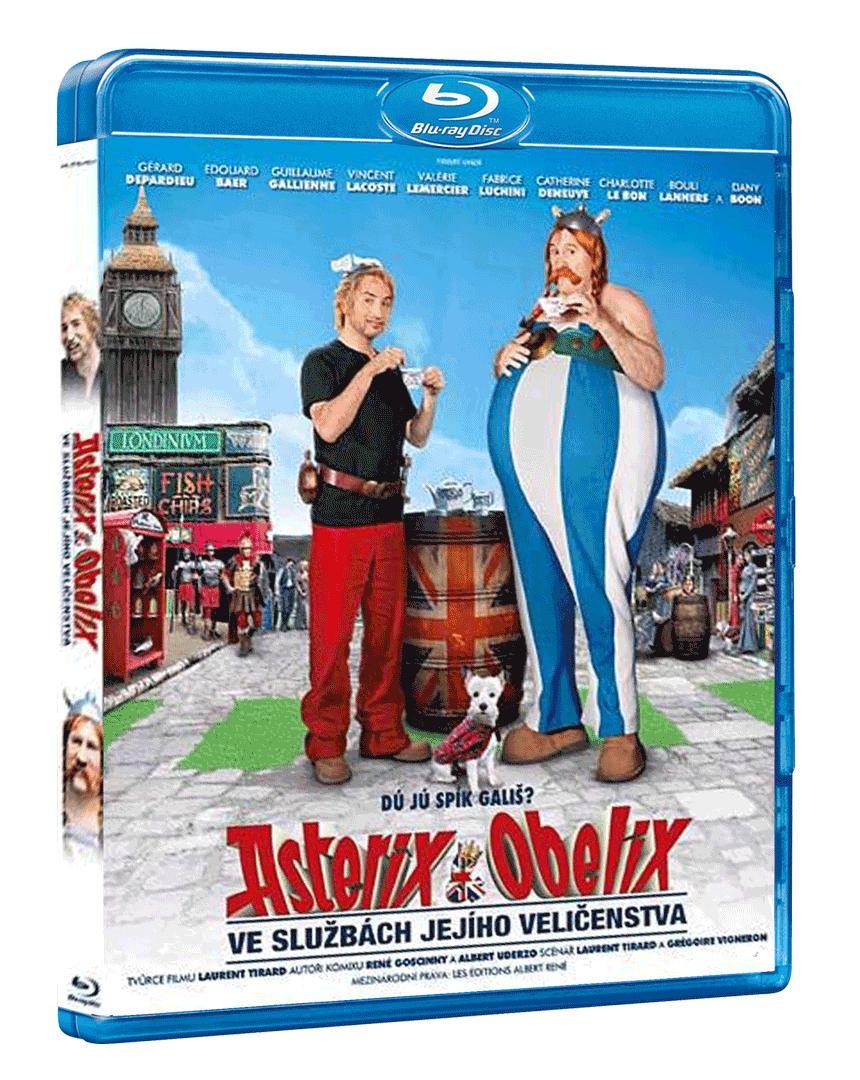 Asterix a Obelix ve službách Jejího Veličenstva (3D Blu-ray)