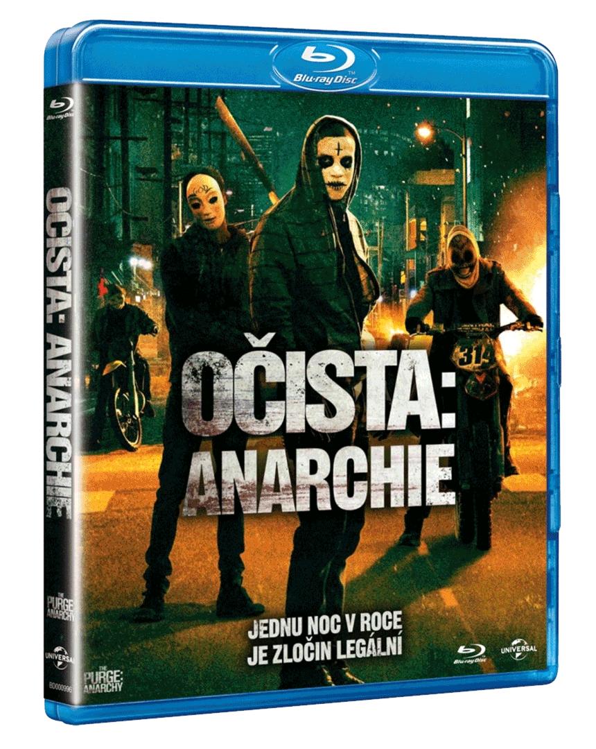 Očista: Anarchie (Blu-ray)