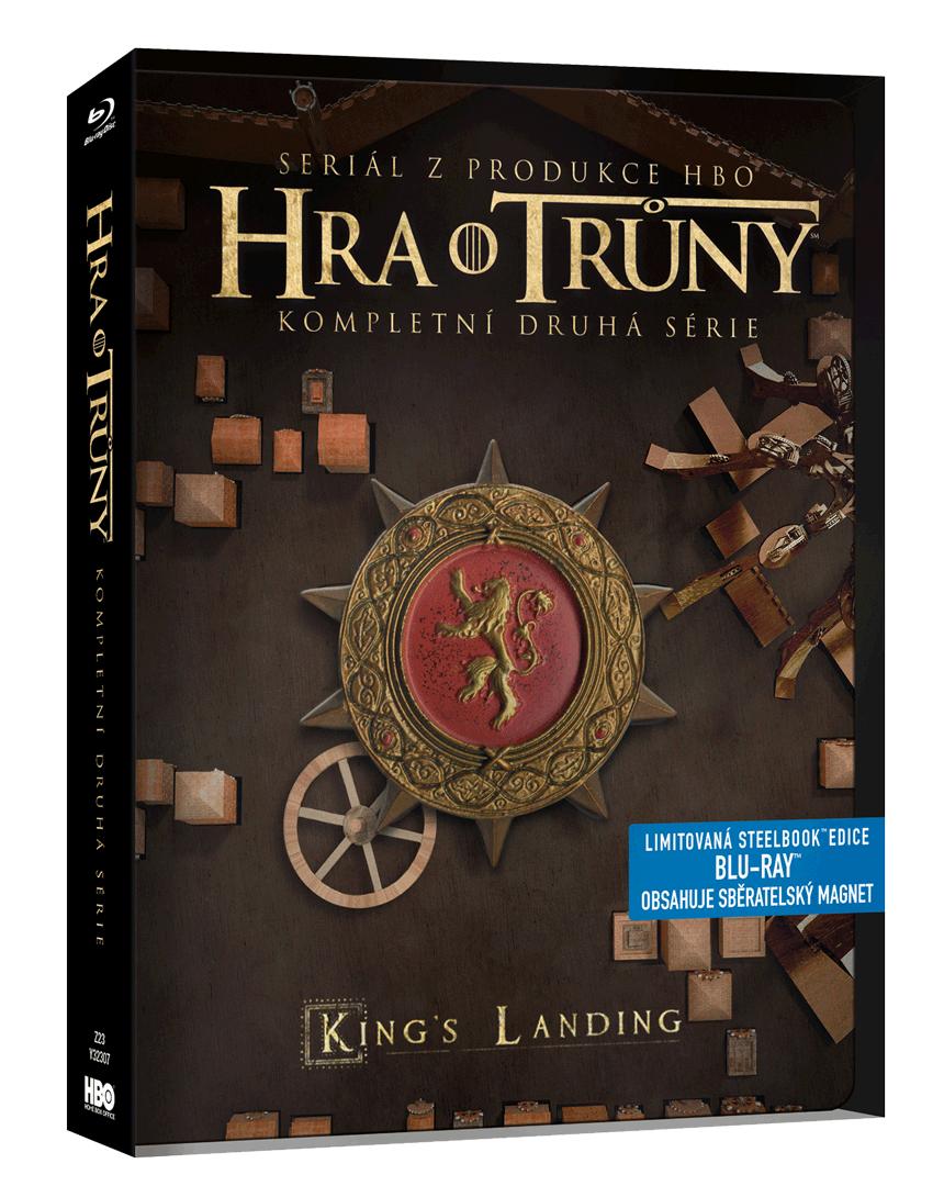 Hra o trůny - 2. sezóna (Blu-ray, steelbook)