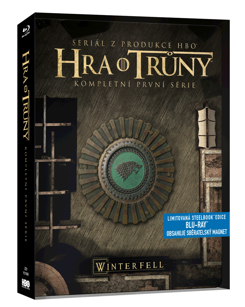 Hra o trůny - 1.sezóna (Blu-ray, steelbook)